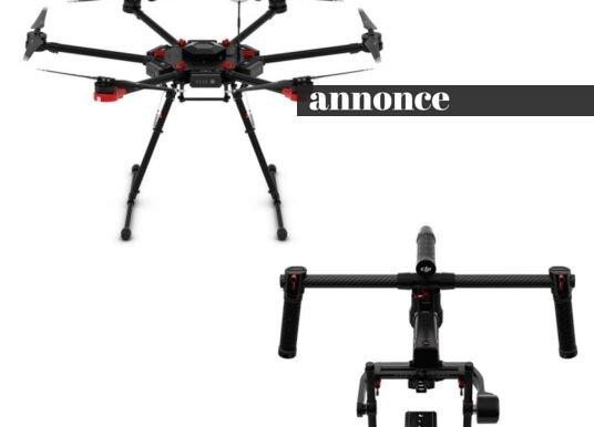 DJI Matrice M600 – en professionel droneserie