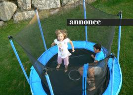 Vælg den rette trampolin til haven