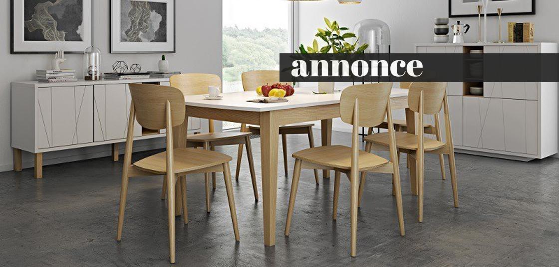Ekstra Spisebord med udtræk inspiration - 12 lækre borde med udtræk VF01