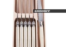 Kunne du tænke dig nogle elegante smøreknive?