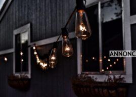 Sådan skaber du hyggelig og sikker belysning udendørs