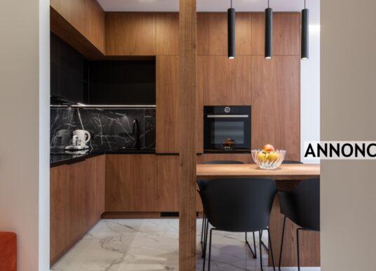 Vedligeholdelsesfrit gulv i køkkenet
